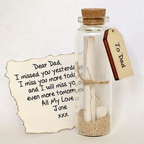 1 Bottled Message